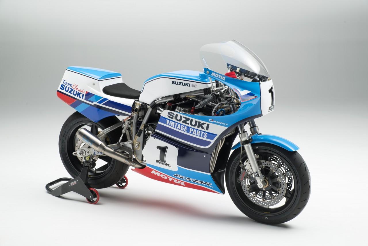 Vintage Suzuki Motorcycle 89