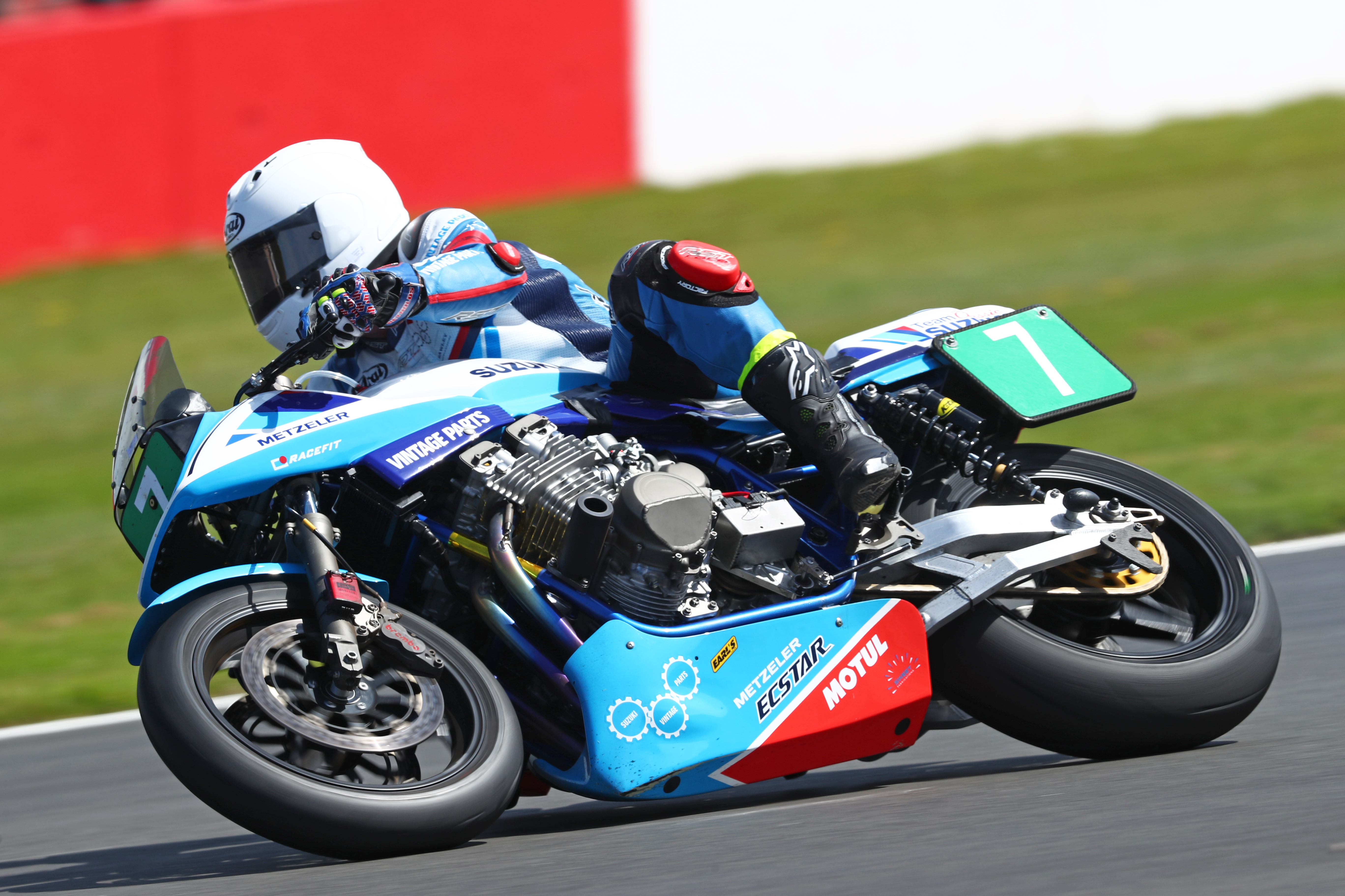 Retirement robs Team Classic Suzuki of shot at victory as