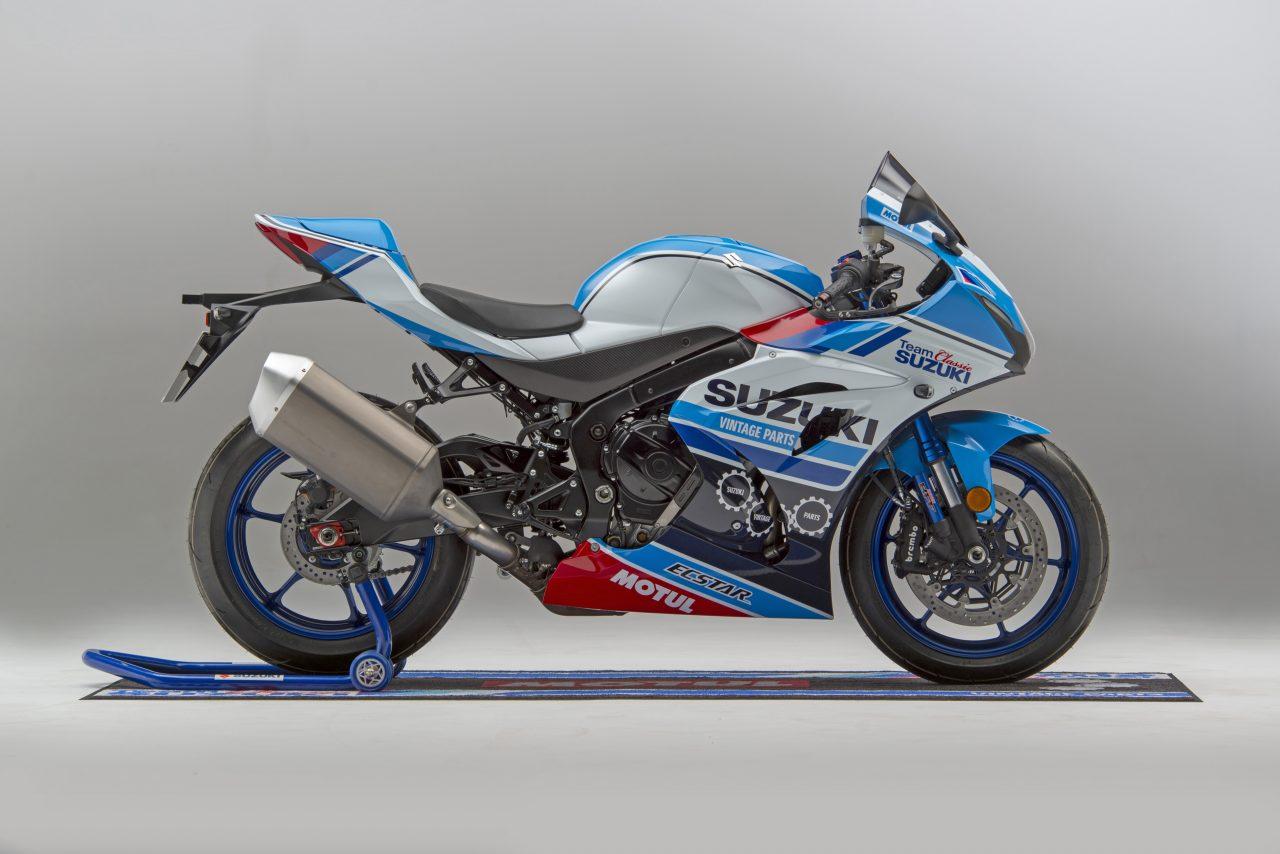 Team Classic Suzuki shows off replica GSX-R1000R   Team Classic Suzuki